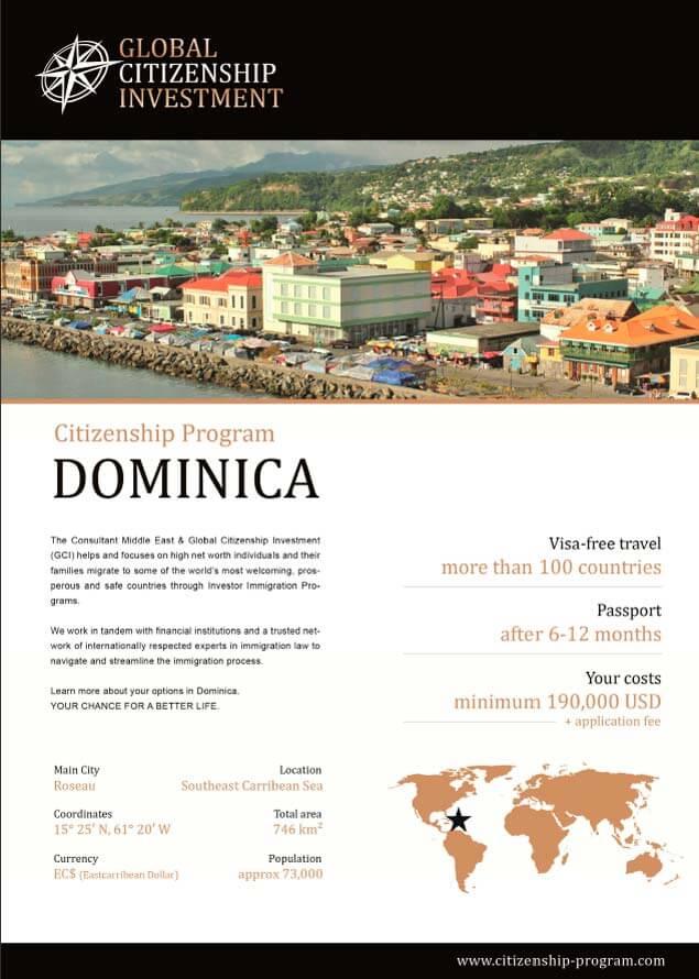Dominica Citizenship Program Brochure