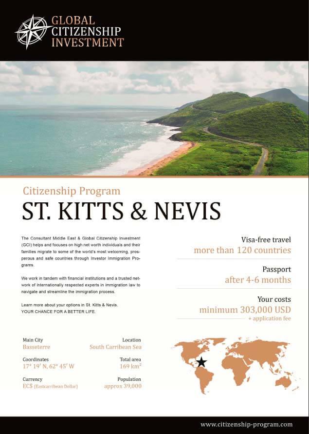 St. Kitts & Nevis Citizenship Program Brochure
