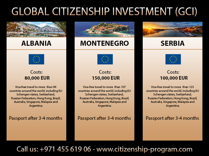 New, exclusive and only available from us - EU Citizenship Program